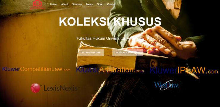 Bebas Akses Jurnal Online Internasional Koleksi Khusus FH UNAIR
